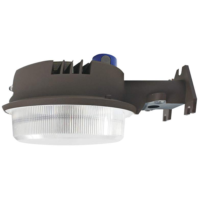 Prescott Bronze LED Security Area Light with Photocell