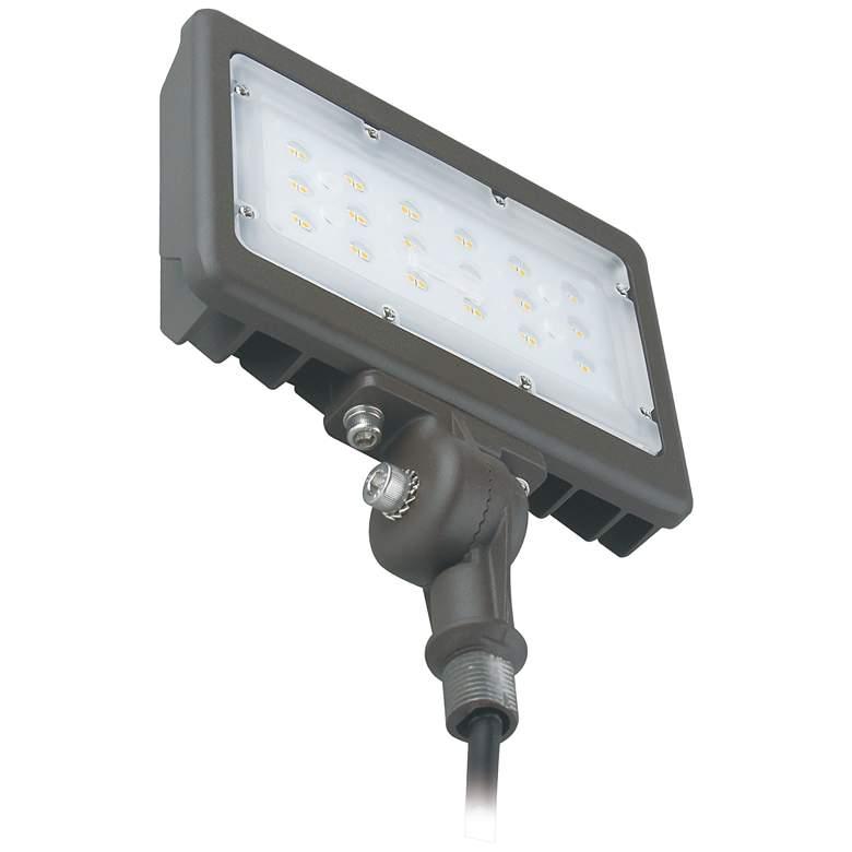 Orion Dark Bronze Hardwire LED Flood Light w/