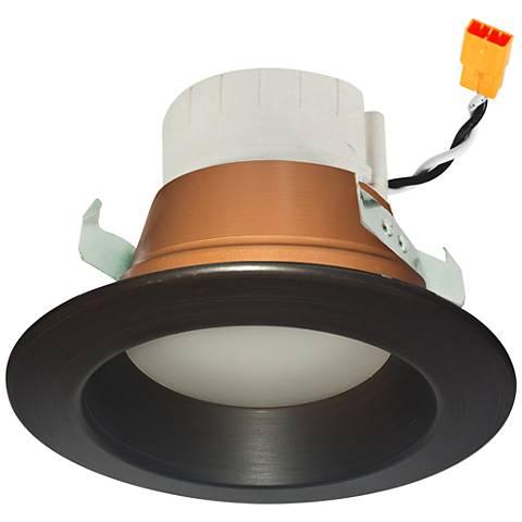 "Prism 4"" Bronze LED App Retrofit Reflector Downlight"