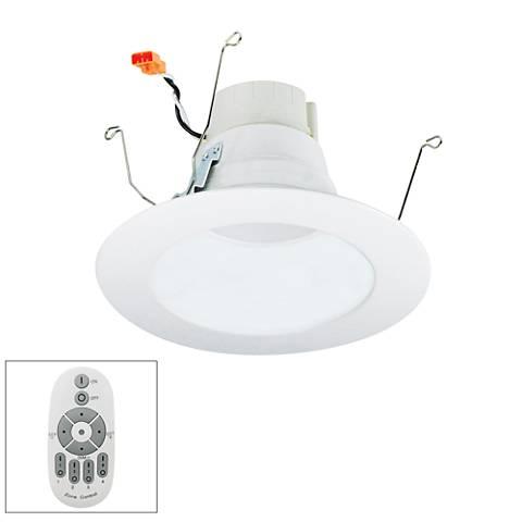 Nora prism 5 6 white led master remote retrofit dnlt