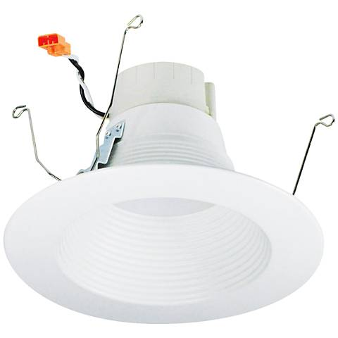 "Nora Prism 5/6"" White App Controlled LED Retrofit Downlight"