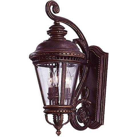 "Feiss Castle Collection 22 1/2""  High Outdoor Wall Light"