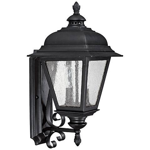 "Capital Brookwood 18 3/4"" High Black Outdoor Wall Light"