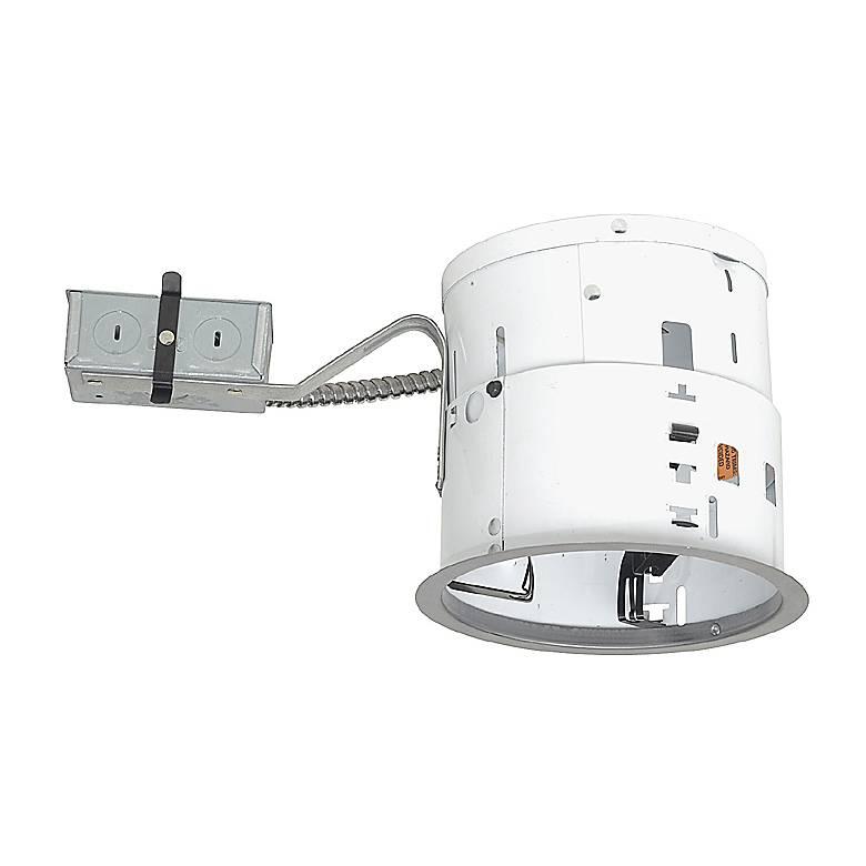 "Juno 6"" Line Voltage Non-IC Remodel Recessed Light Housing"