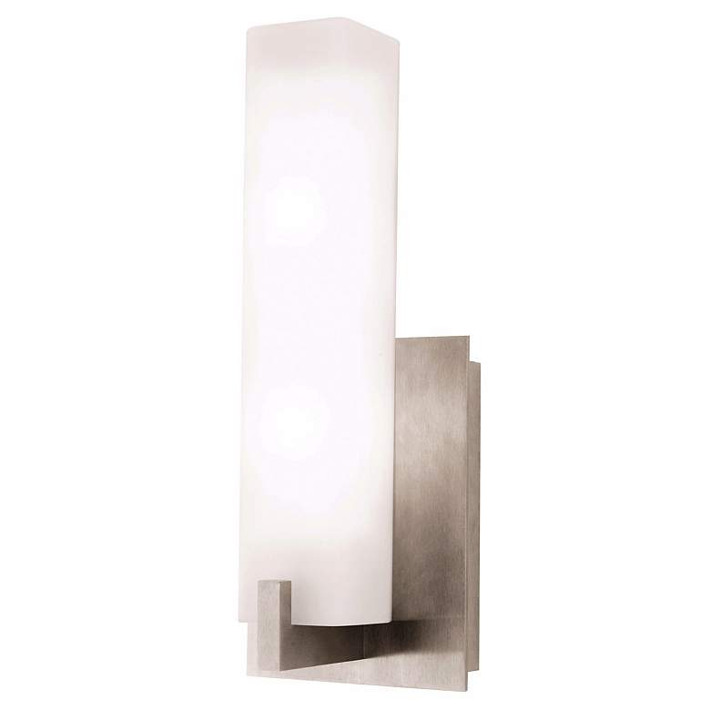 Cosmo Satin Nickel ADA Compliant Wall Sconce