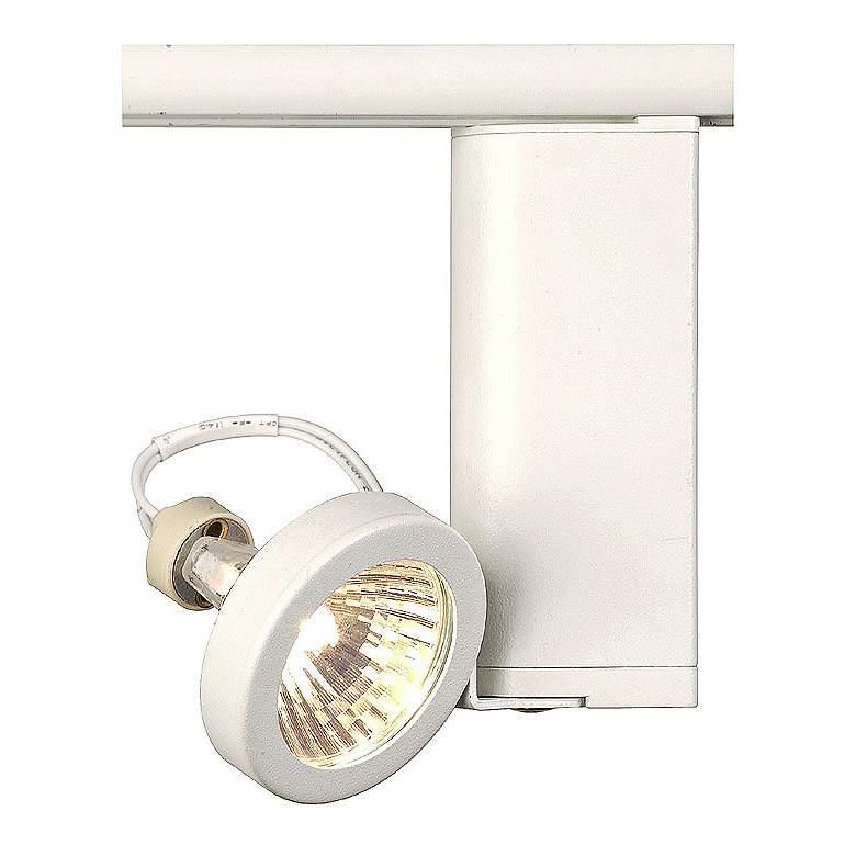 Lightolier White Shallow Ring MR16 Track Head