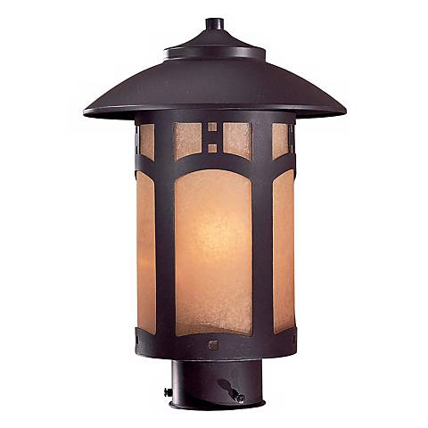 "Beacon Rhodes Collection 14 1/2"" High Outdoor Post Light"