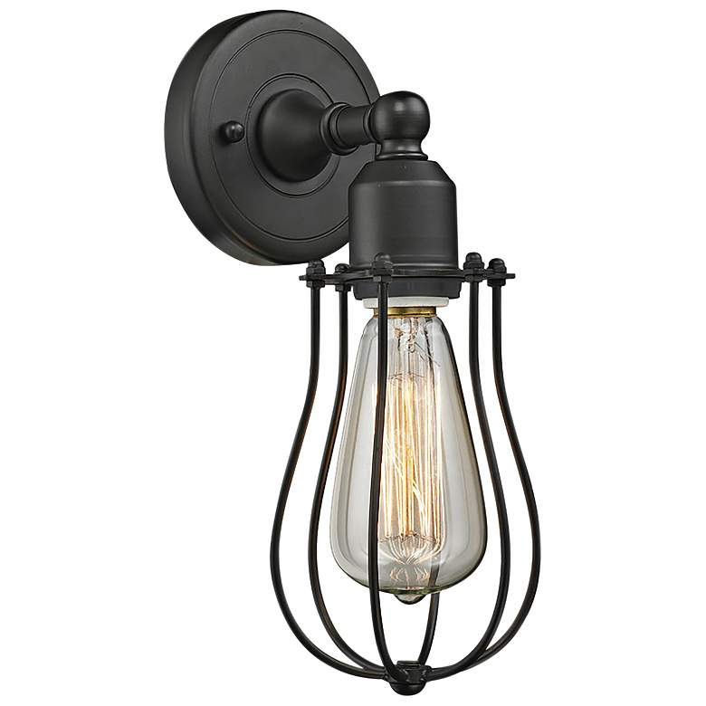 """Muselet 11"""" High Oil-Rubbed Bronze A Wall Sconce"""