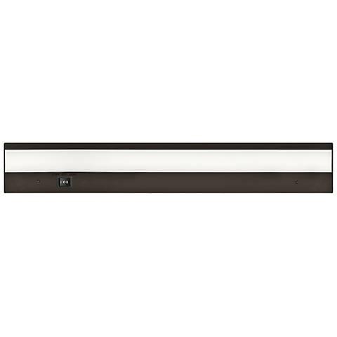 """WAC Pausch 18"""" Wide Bronze LED Under Cabinet Light"""