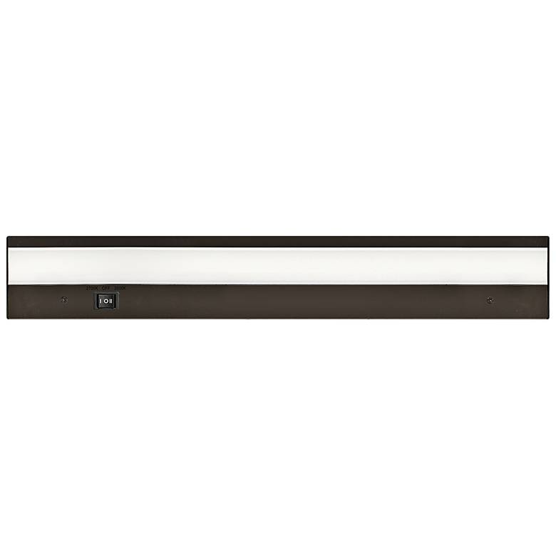 "WAC DUO 18"" Wide Bronze LED Under Cabinet Light"