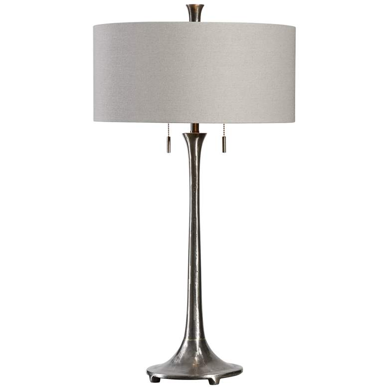 Uttermost Aliso Porous Texture Iron Table Lamp