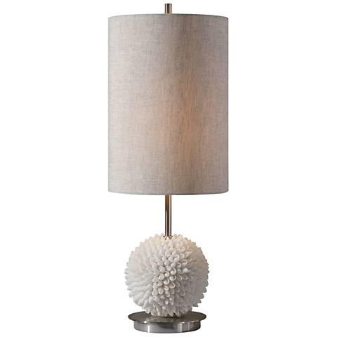 Uttermost Cascara Faux Sea Shells Buffet Table Lamp
