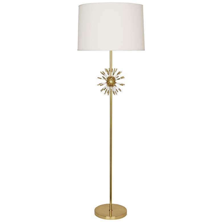 Robert Abbey Andromeda Modern Brass Floor Lamp