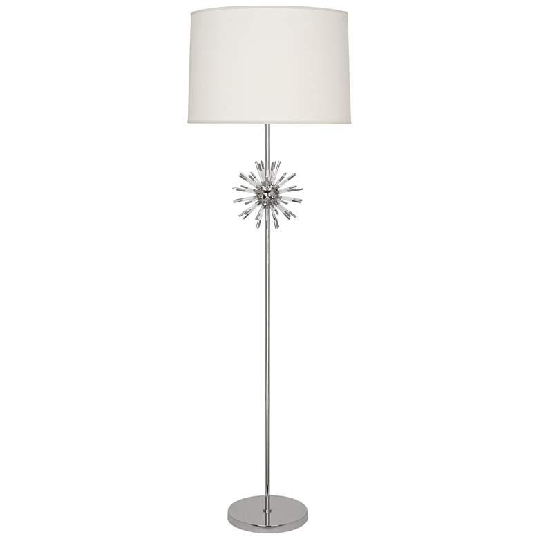 Robert Abbey Andromeda Polished Nickel Floor Lamp
