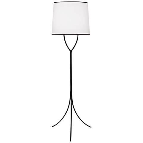 Robert Abbey Desiree Wrought Iron Tripod Floor Lamp