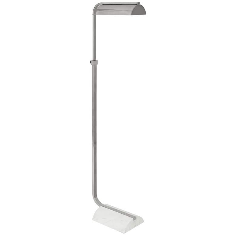 Julian Polished Nickel Adjustable Task Floor Lamp