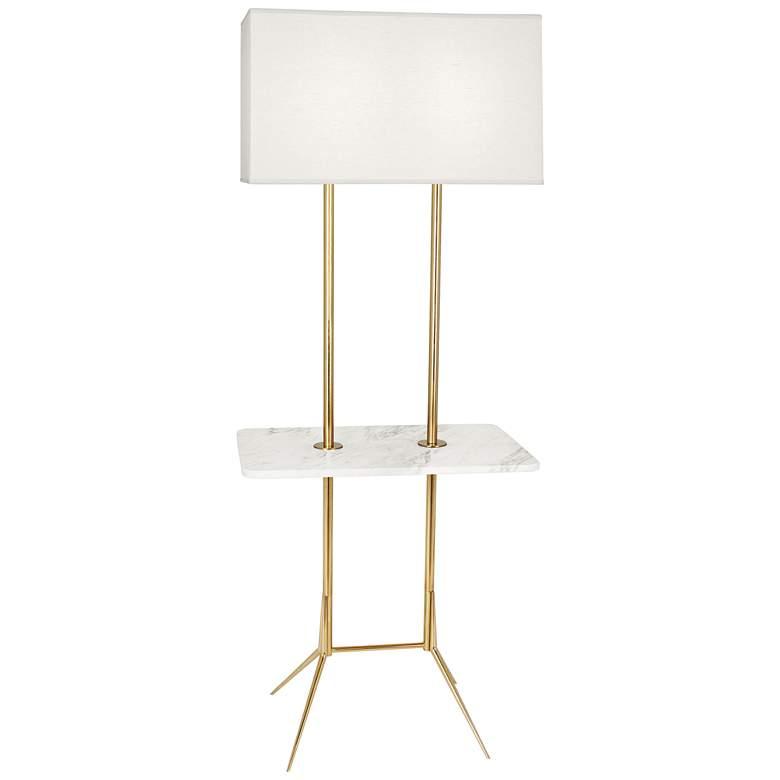 "Martin 60 1/2""H Modern Brass Floor Lamp with"