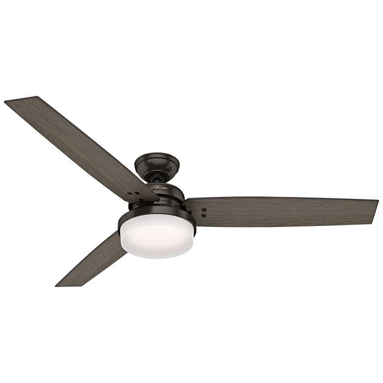 "60"" Hunter Sentinel Premier Bronze LED Ceiling Fan"