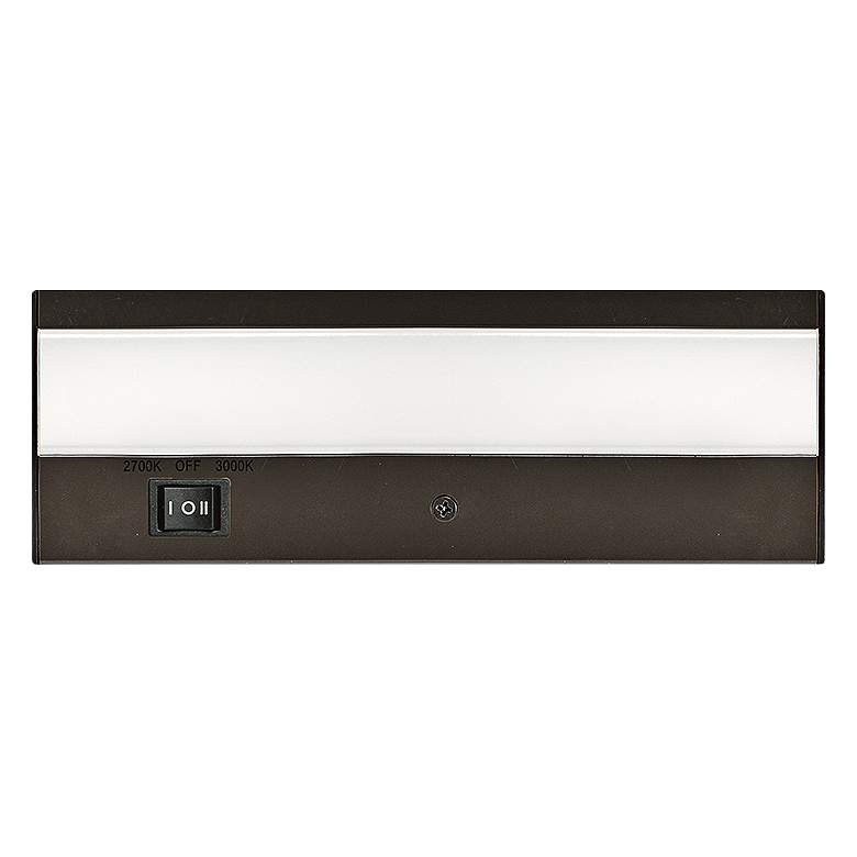 "WAC DUO 8"" Wide Bronze LED Under Cabinet Light"