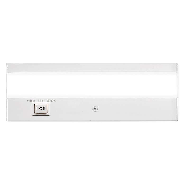 "WAC DUO 8"" Wide White LED Under Cabinet Light"