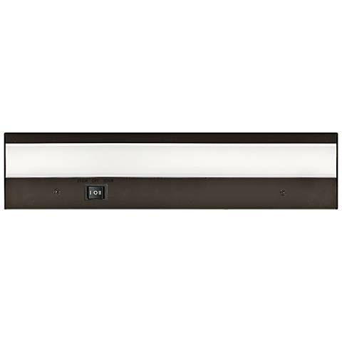 "WAC DUO 12"" Wide Bronze LED Under Cabinet Light"