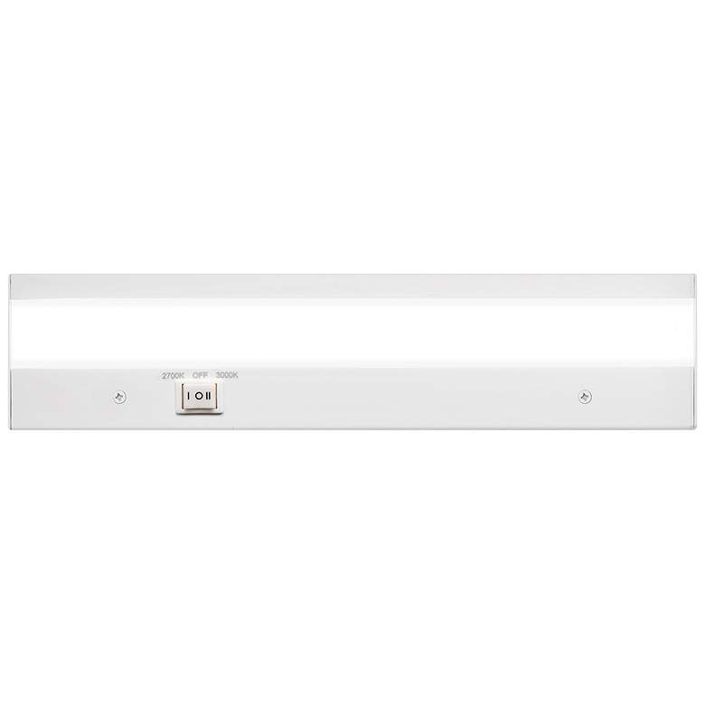 "WAC DUO 12"" Wide White LED Under Cabinet Light"