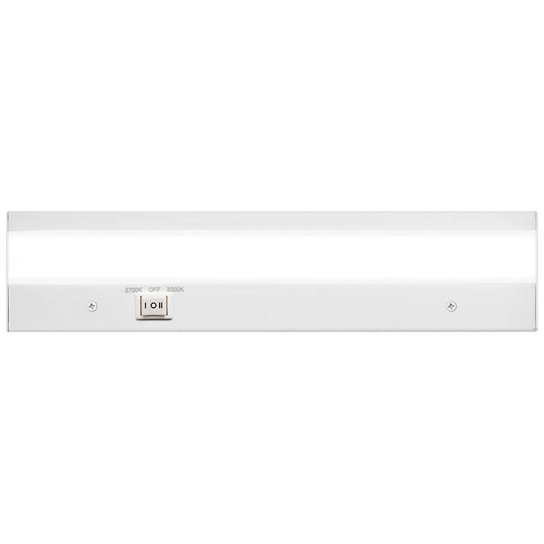 """WAC DUO 12"""" Wide White LED Under Cabinet Light"""