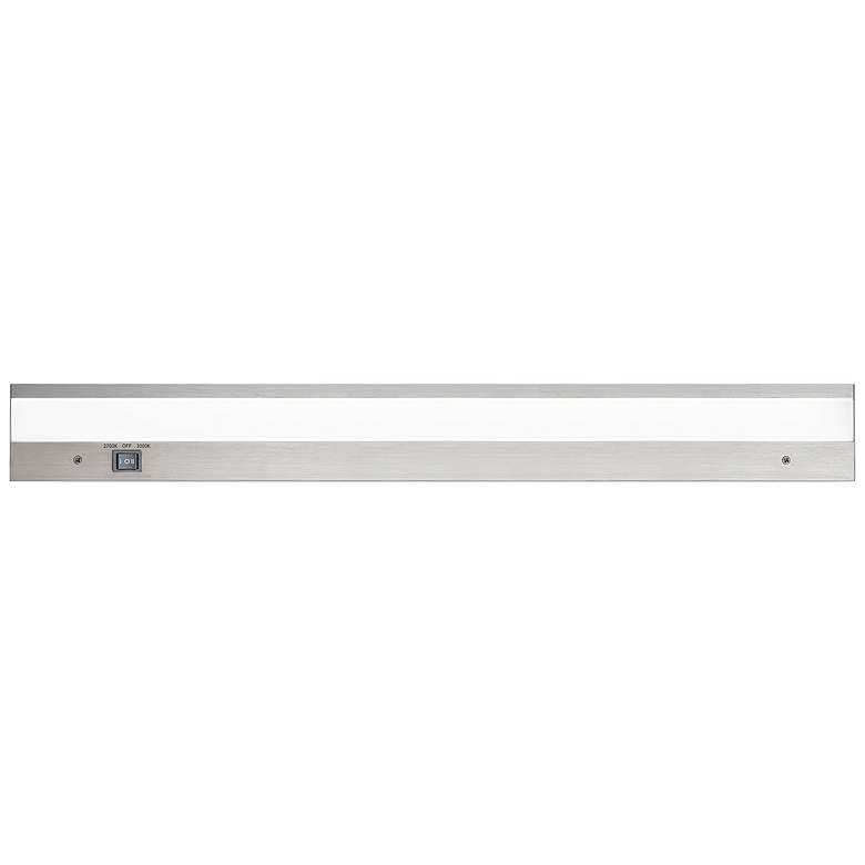 "WAC DUO 24"" Wide Brushed Aluminum LED Under Cabinet Light"
