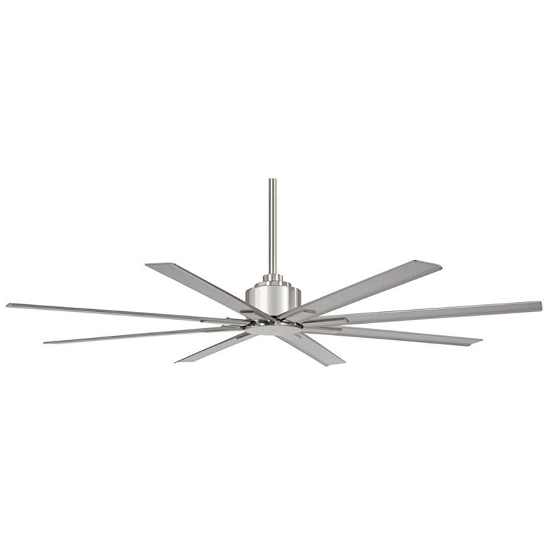 "65"" Minka Aire Xtreme H2O Brushed Nickel Wet Ceiling Fan"