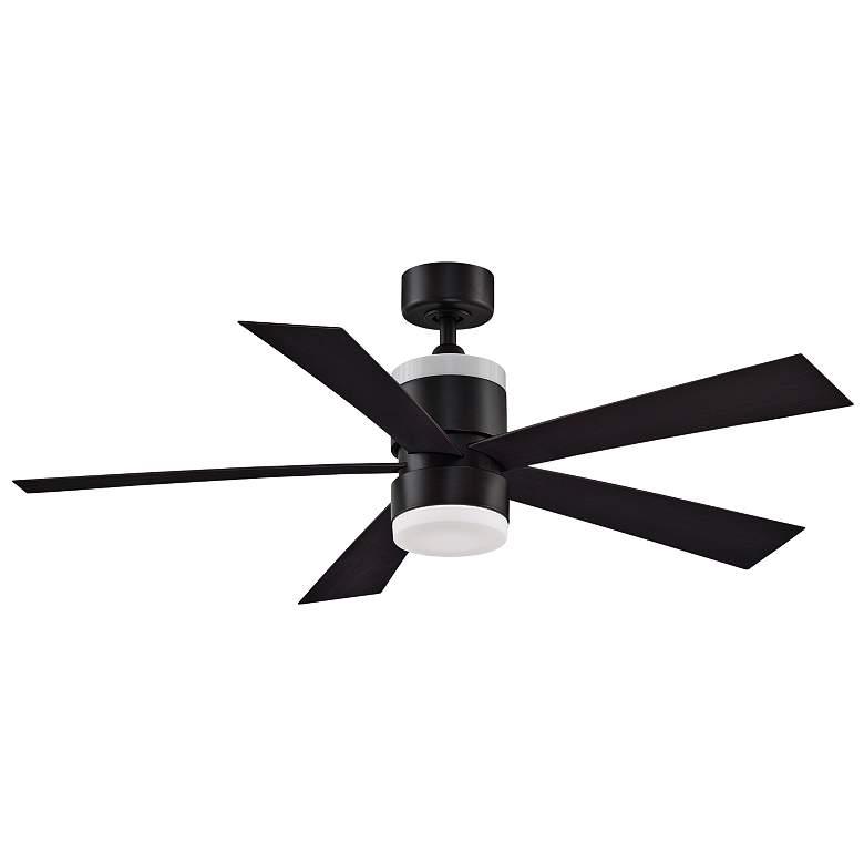 """52"""" Fanimation Torch Dark Bronze Damp LED Ceiling Fan"""