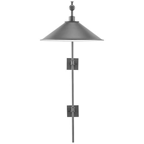 Illustrator Hiroshi Gray Plug-In Wall Lamp