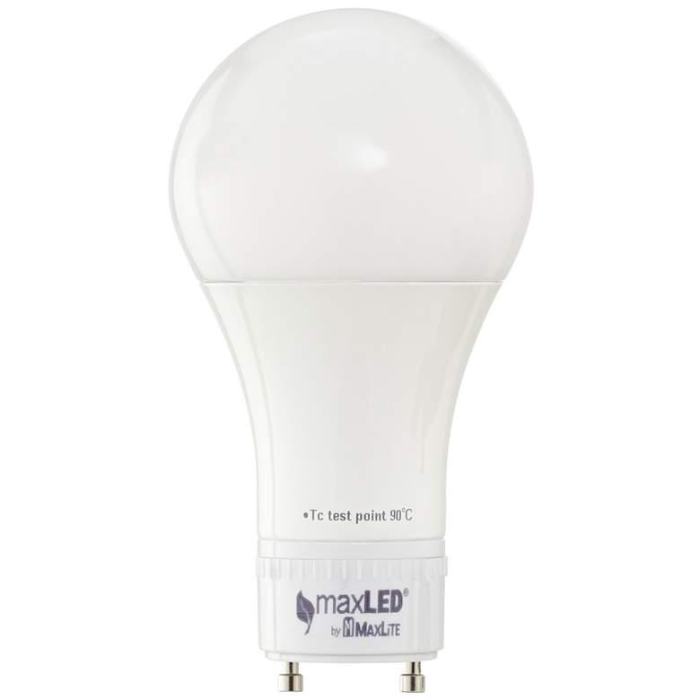 60W Equivalent Maxlite 10W LED 2700K GU24 A19 Bulb