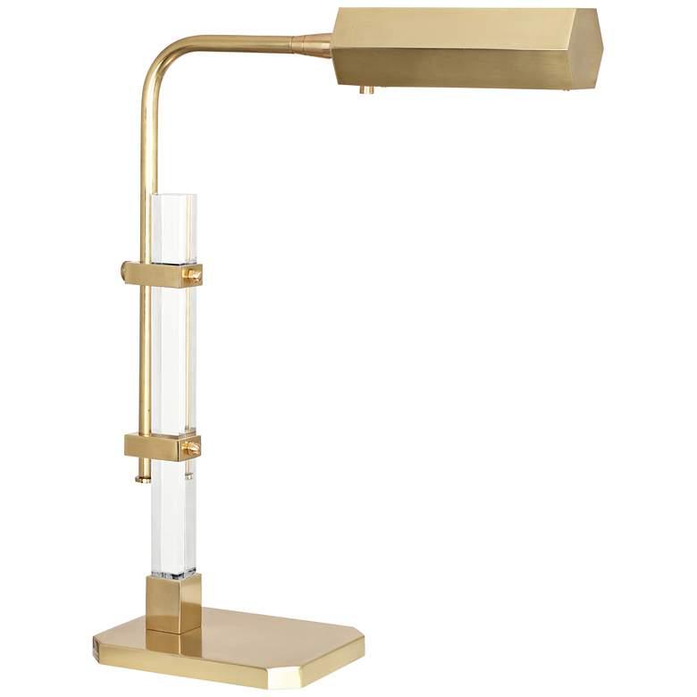 Robert Abbey Plexus Brass Adjustable LED Accent Table Lamp