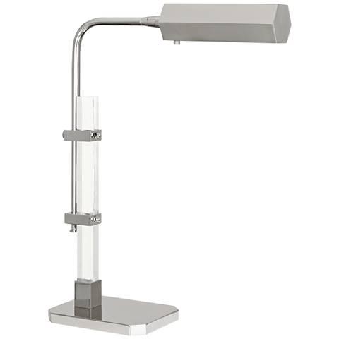 Plexus Polished Nickel Adjustable LED Accent Table Lamp