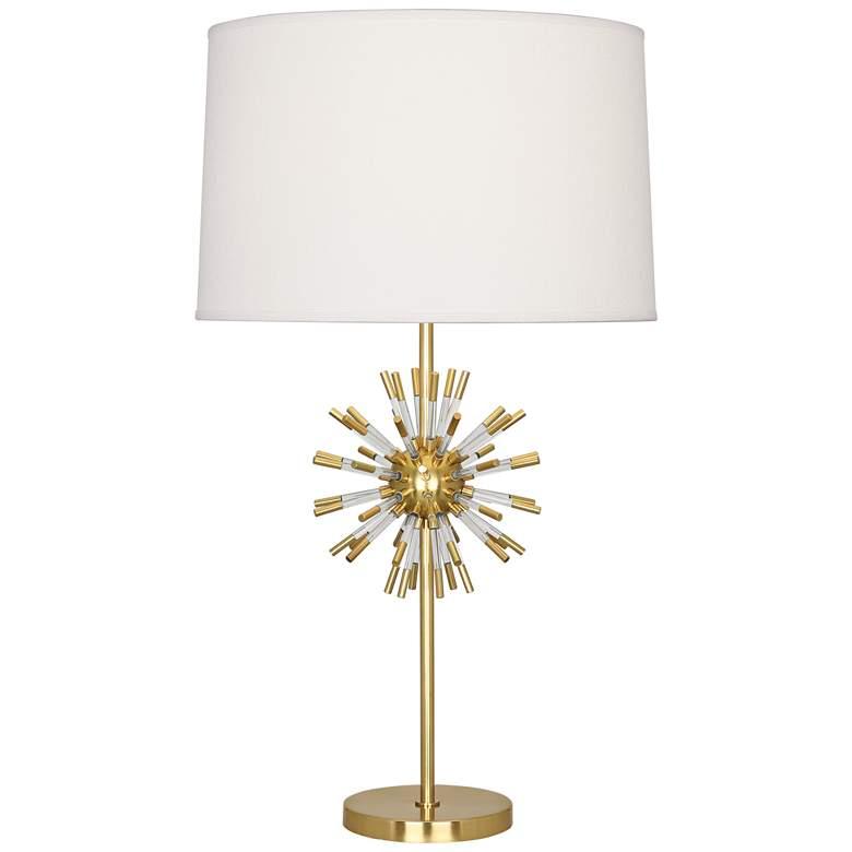 Robert Abbey Andromeda Modern Brass Table Lamp
