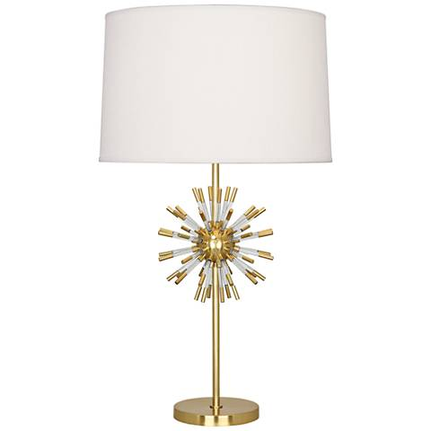 Robert Abbey Andromeda Modern Brass Table Lamp