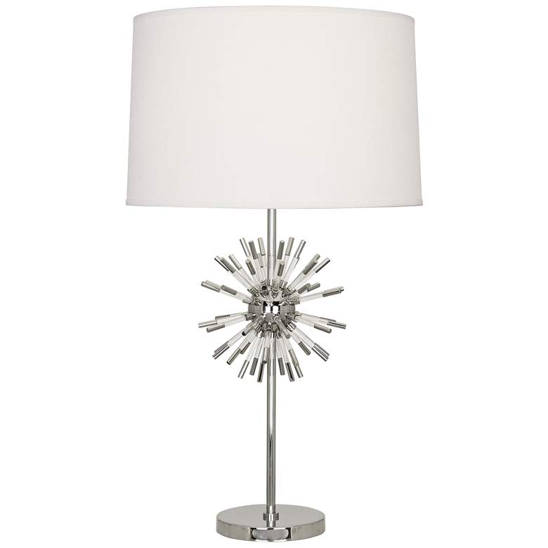 Robert Abbey Andromeda Polished Nickel Table Lamp