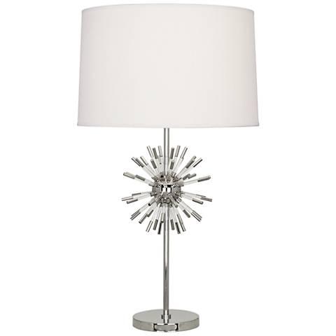Robert Abbey Andromeda Polished Nickel Table Lamp