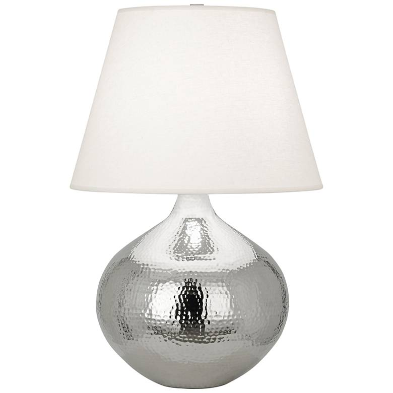 Robert Abbey Dal Polished Nickel Vessel Table Lamp