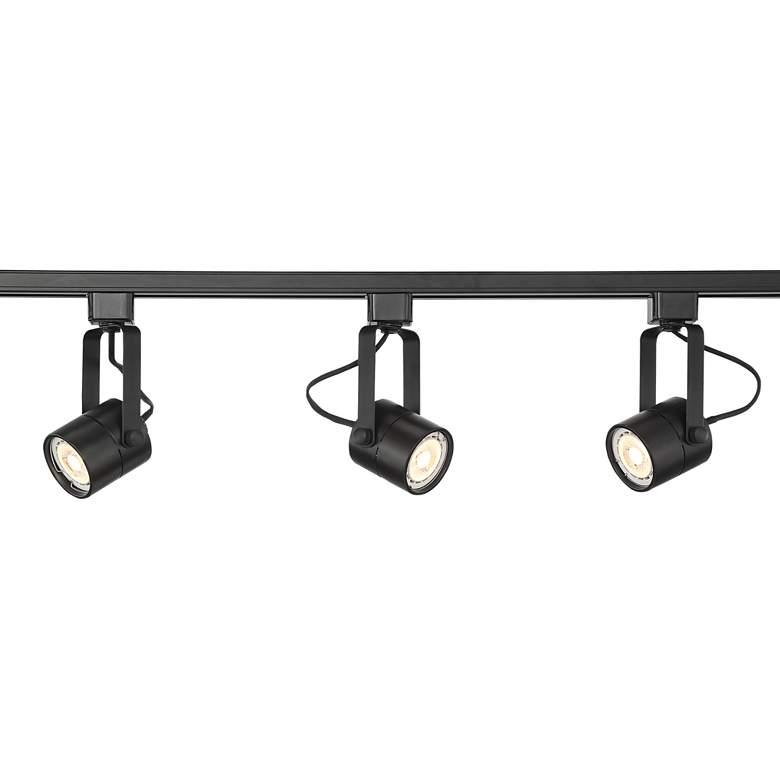 Pro Track Layna Linear 3-Light Black LED Bullet Track Kit