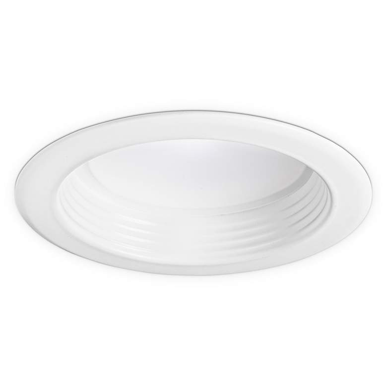 "4"" White Smooth or Baffle Dimmable LED Retrofit Trim"