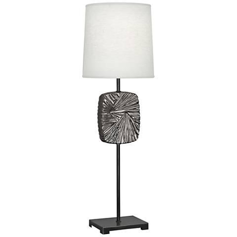 Michael Berman Alberto Bronze and Nickel Buffet Table Lamp