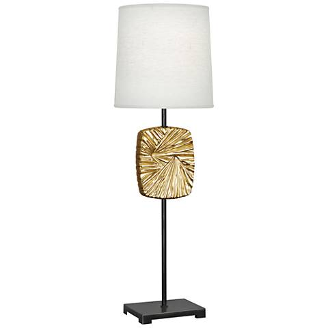 Michael Berman Alberto Bronze and Brass Buffet Table Lamp
