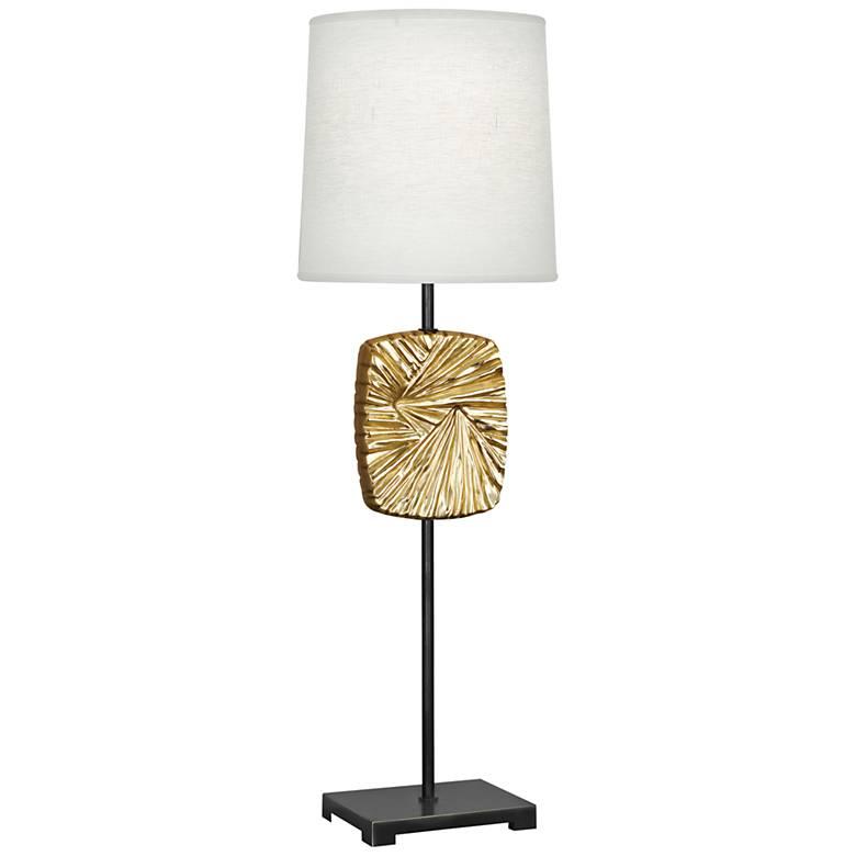 Michael Berman Alberto Bronze and Brass Buffet Table Lamp