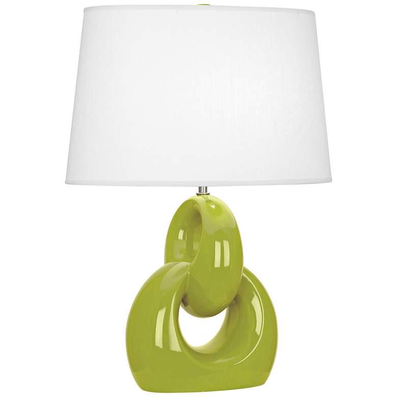Robert Abbey Fusion Apple Ceramic Table Lamp