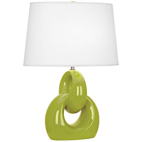 Robert Abbey Fusion Apple Ceramic Table Lamp