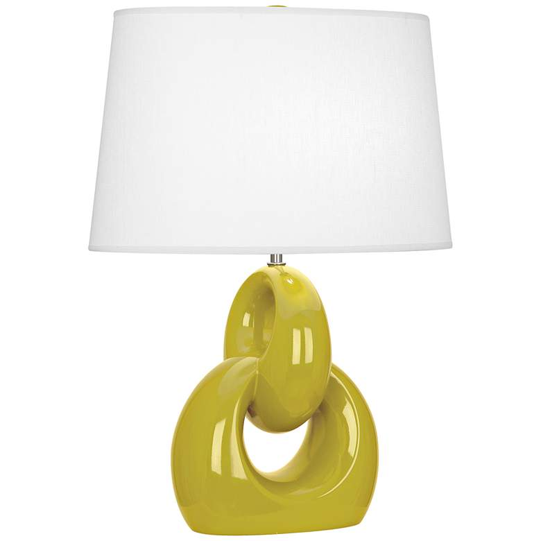 Robert Abbey Fusion Citron Ceramic Table Lamp