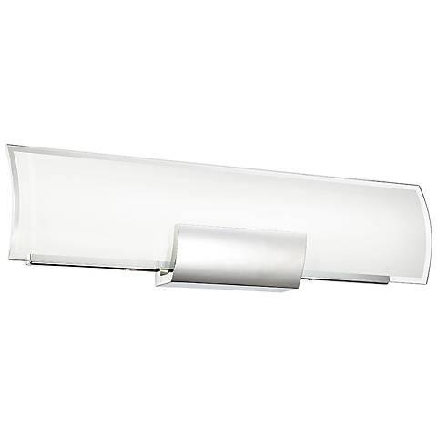 "dweLED Horizon 26"" Wide Chrome LED Bath Light"