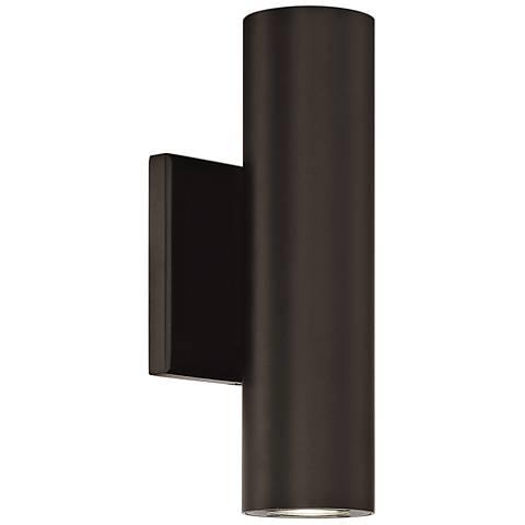 "dweLED Caliber 10"" High Bronze LED Outdoor Wall Light"
