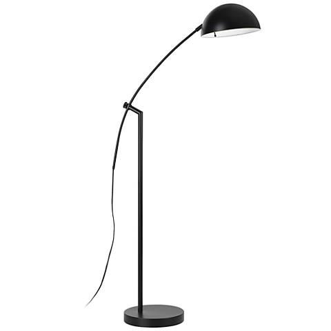 Pinehurst Dark Bronze Metal Arc Floor Lamp